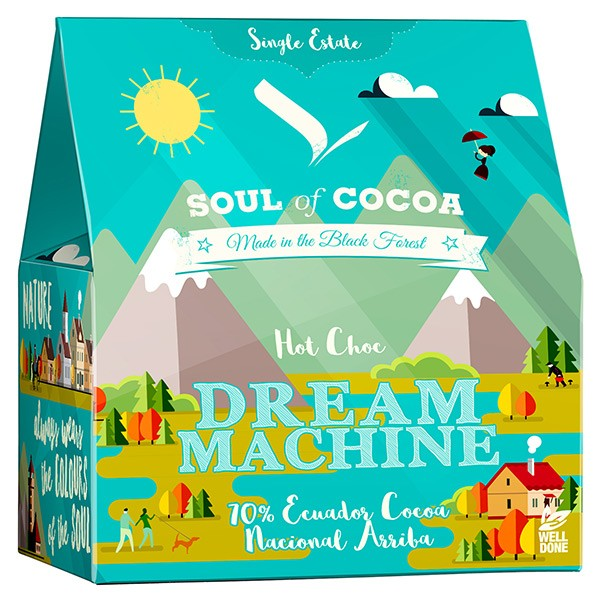 Soul of Cocoa Dream Machine Hot Choc 200 g